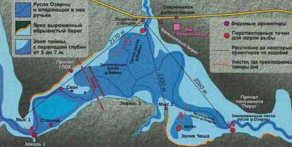 Белоярское водохранилище | lovi-rubky.ru
