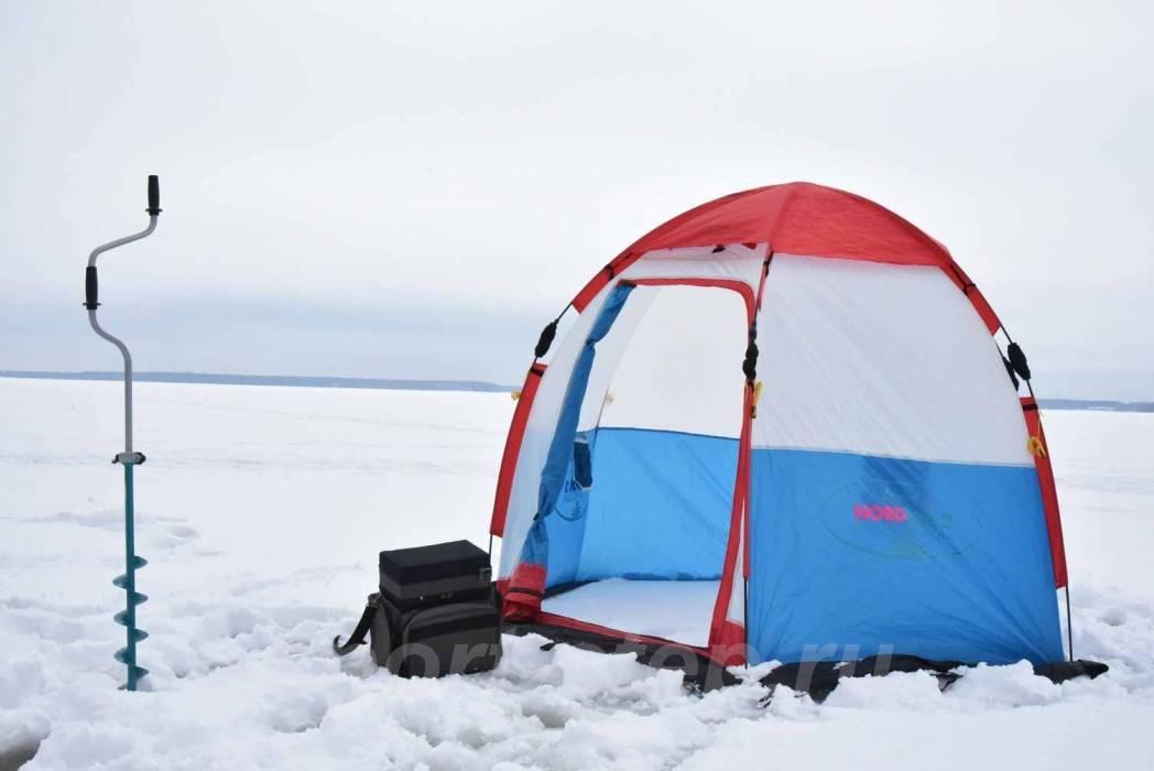 Палатка для зимней рыбалки: как выбрать самый лучший вариант