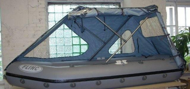 Тент на лодку своими руками - как сделать носовой, ходовой, стояночный, транспортировочный