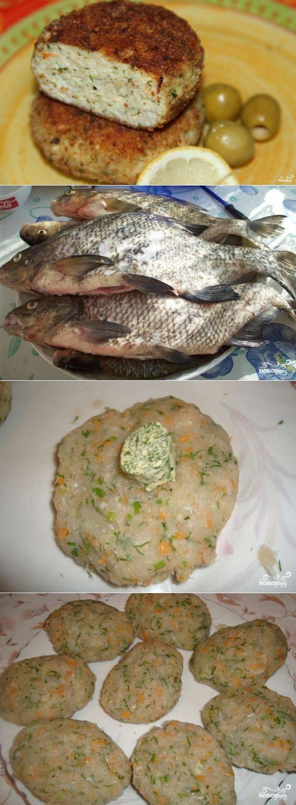 Как вкусно приготовить рыбные котлеты из леща