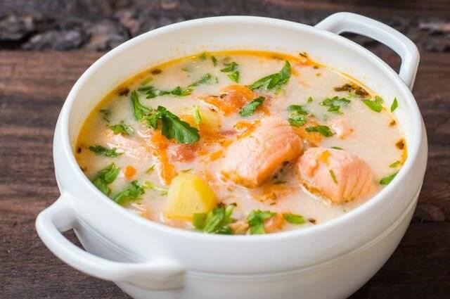 Суп из семги (27 рецептов с фото) - рецепты с фотографиями на поварёнок.ру
