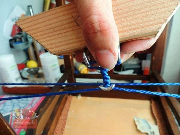 Самозатягивающиеся узлы для бельевой веревки, для браслета, для лески, на катушку