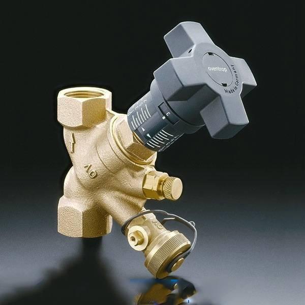 Балансировочный клапан для системы отопления — основы функционирования