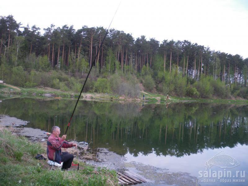Рыбалка в никифорово щелковский район