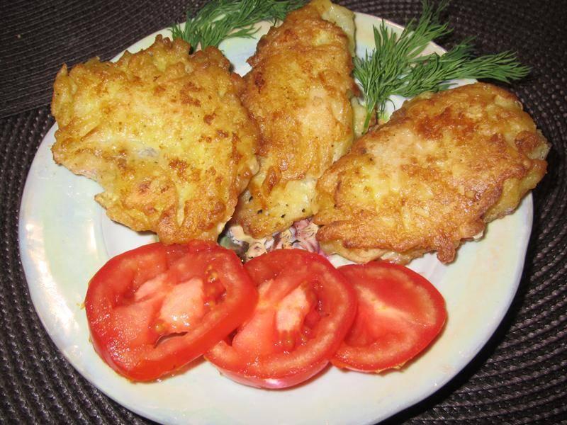 Рыба в соляном тесте – кулинарный рецепт