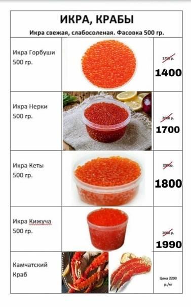 Икра ? горбуши и кеты, что лучше ? и в чём отличия? какая красная икра вкуснее и в чём разница?