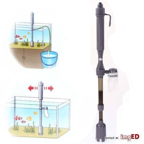 Сифон для аквариума: разновидности, специфика использования