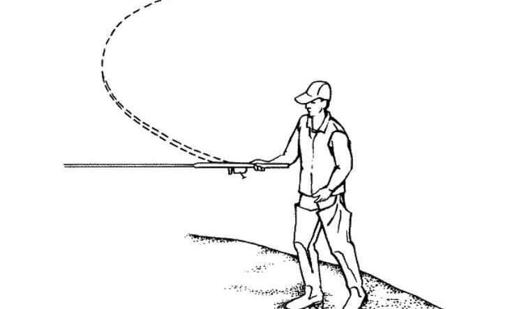 Техника совершения дальних забросов спиннингом