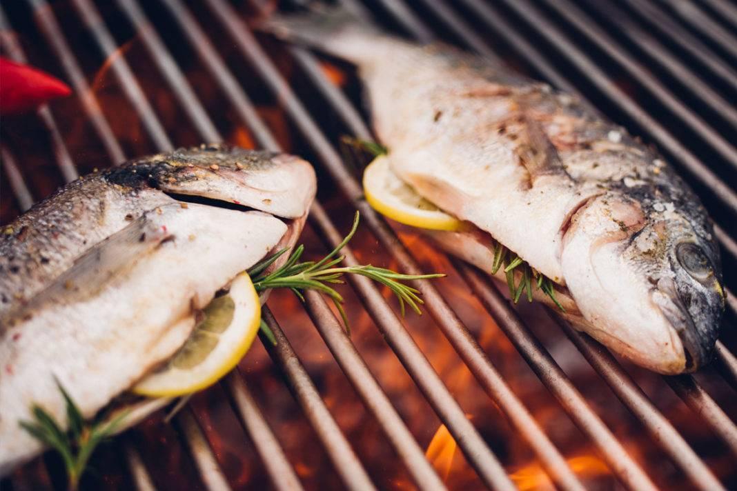Блюда на гриле - рецепты