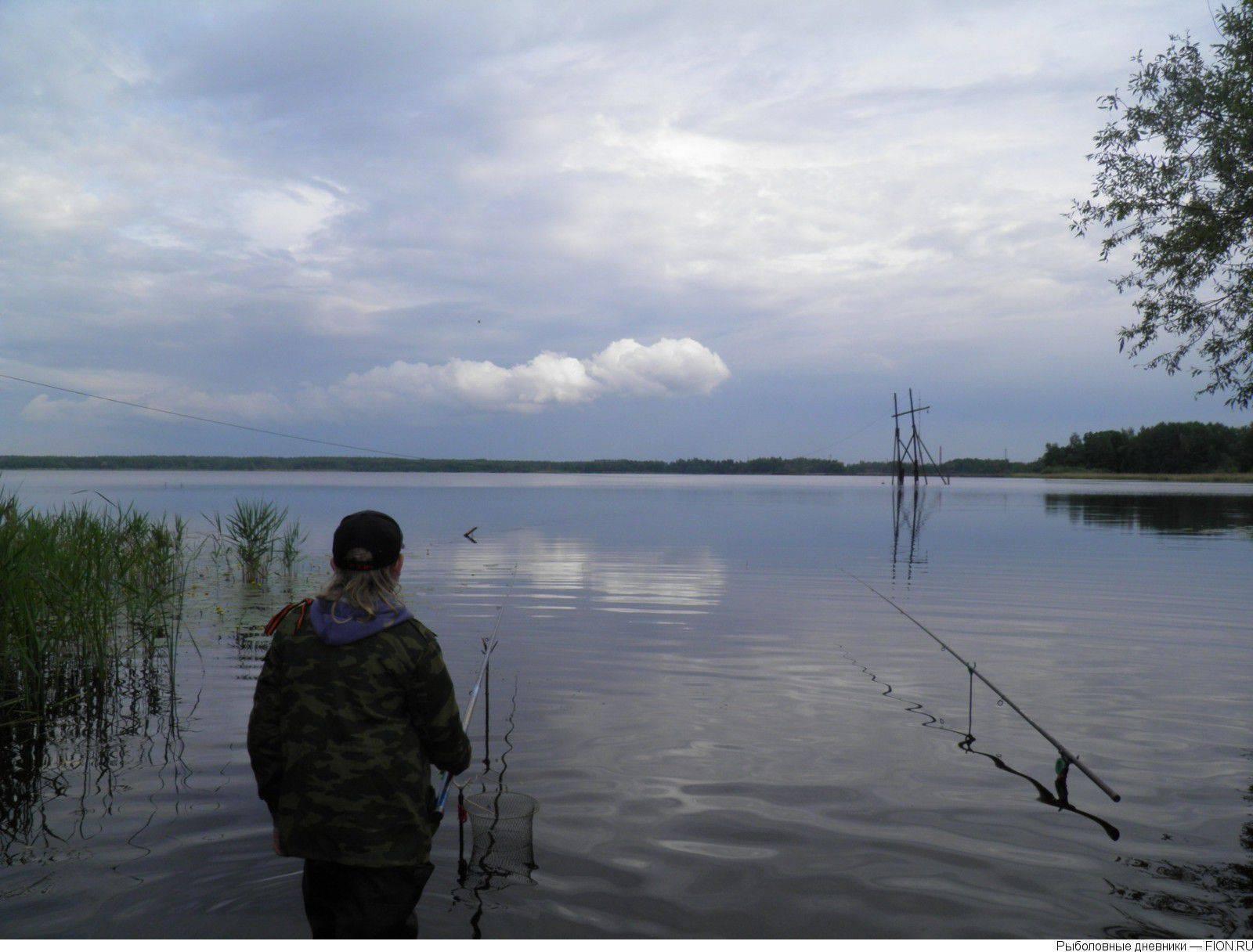 Рыбалка в шатуре