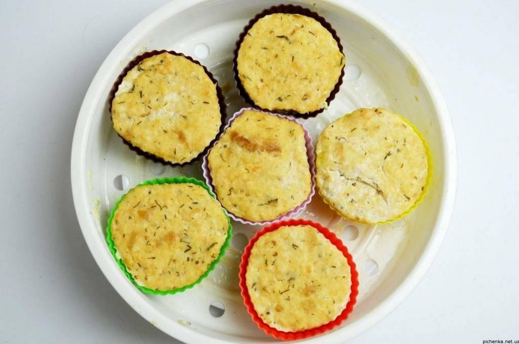 Рыба под сырным суфле – кулинарный рецепт