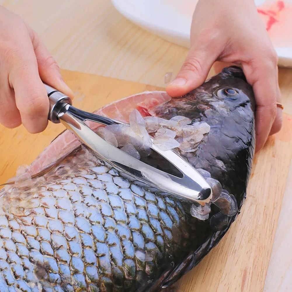 Чистка рыбы керхером – особенности снятия чешуи этим способом, руководство к действию