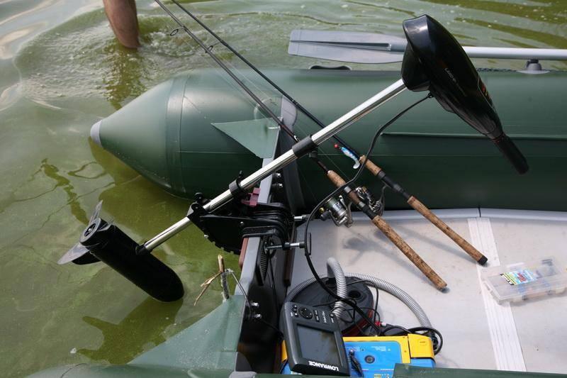 Электромоторы для надувных лодок - как правильно выбрать и установить