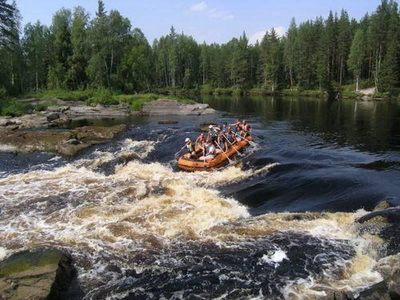 Сплав на байдарках по рекам сяпся - шуя. классическая карелия.