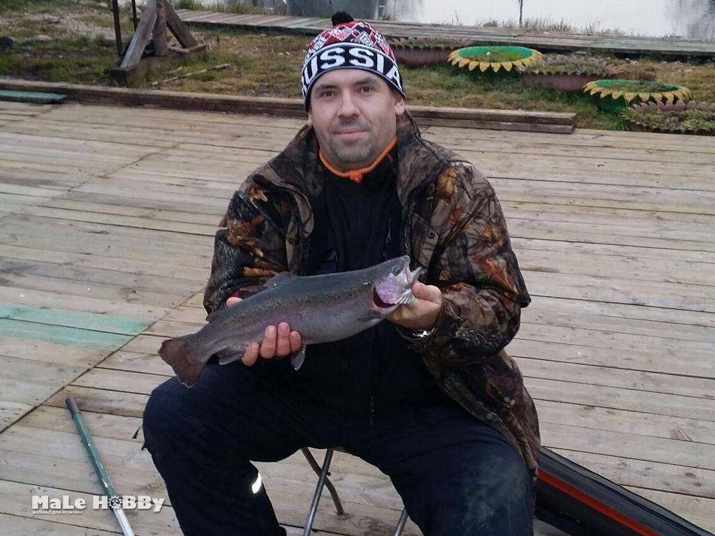 Хомяково: платная рыбалка и отдых