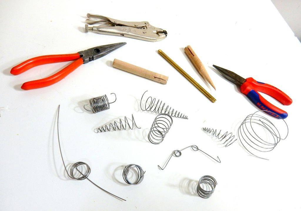 Как сделать пружину в домашних условиях своими руками. технология изготовления и закалки пружины своими руками что можно сделать из автомобильных пружин