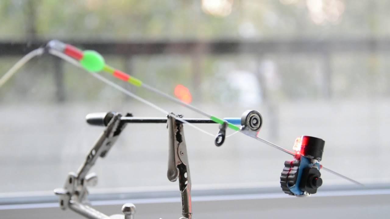 Как сделать кивок (сторожок) для рыбалки из рентгеновской плёнки