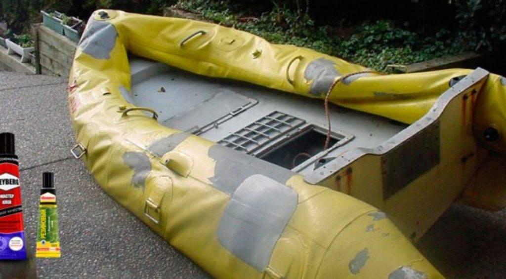 Клей для пвх-лодок – какой лучше, инструкция проведения ремонта