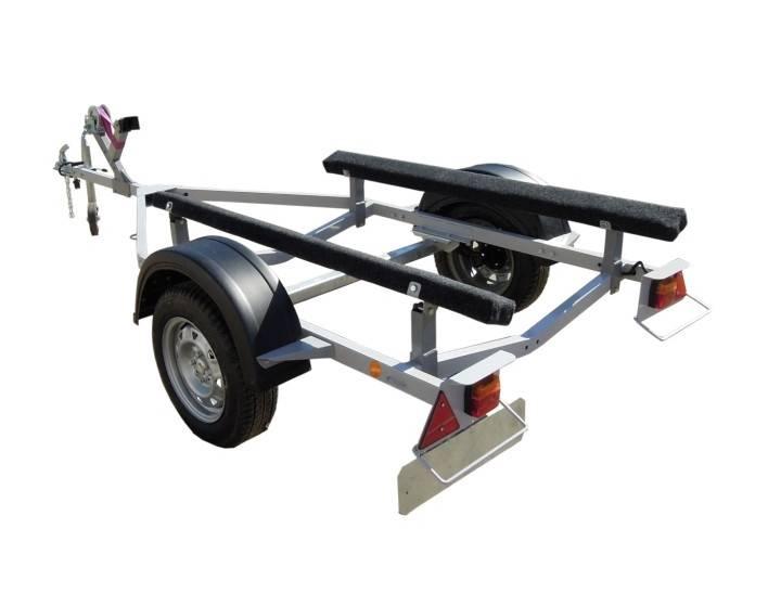 Прицеп для лодки пвх - перевозка, крепление и переделка своими руками