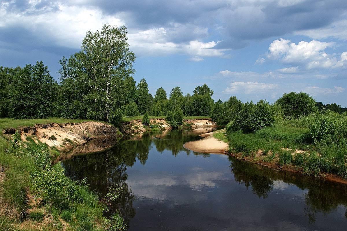 Река ока: куда впадает, характеристики, описание