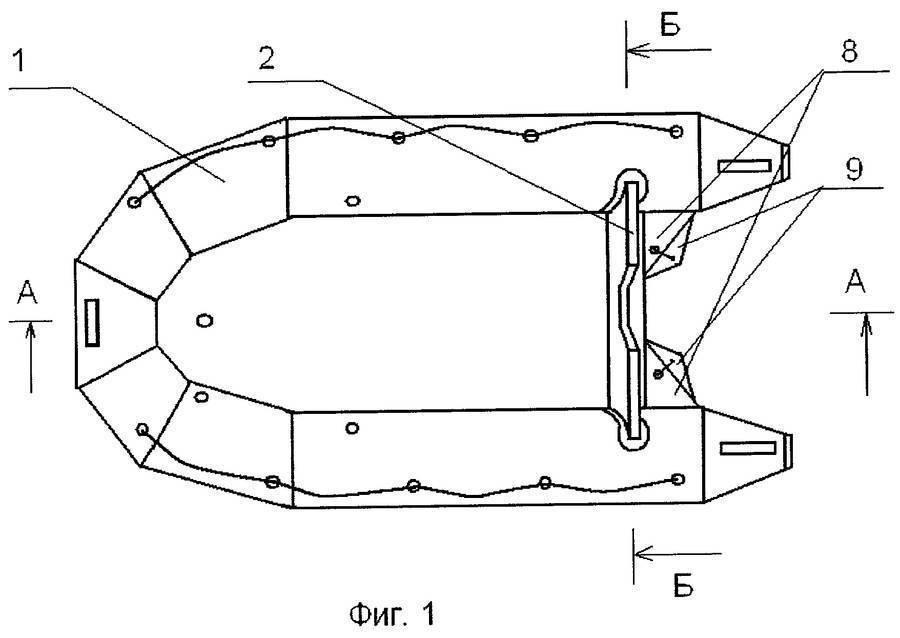 Транец навесной для лодки пвх своими руками - материалы и изготовление