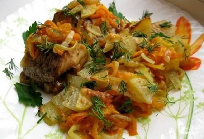 Царское блюдо: щука в пароварке