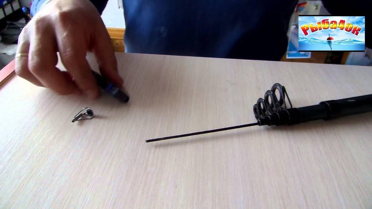 Как поменять тюльпан на спиннинге видео – как заменить тюльпан на спиннинге своими руками: инструкция