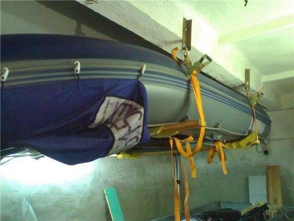 Правильное хранение лодки из пвх зимой