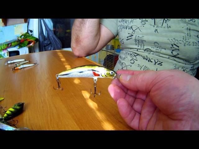 Самодельные воблеры из разных материалов для разных пород рыб: чертеж и схема