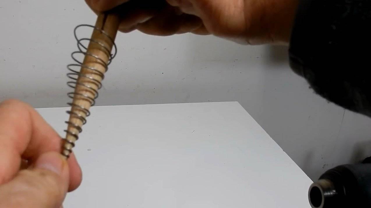 Как закалить пружину в домашних условиях