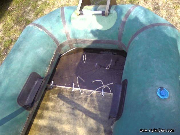 Пол для лодки пвх своими руками