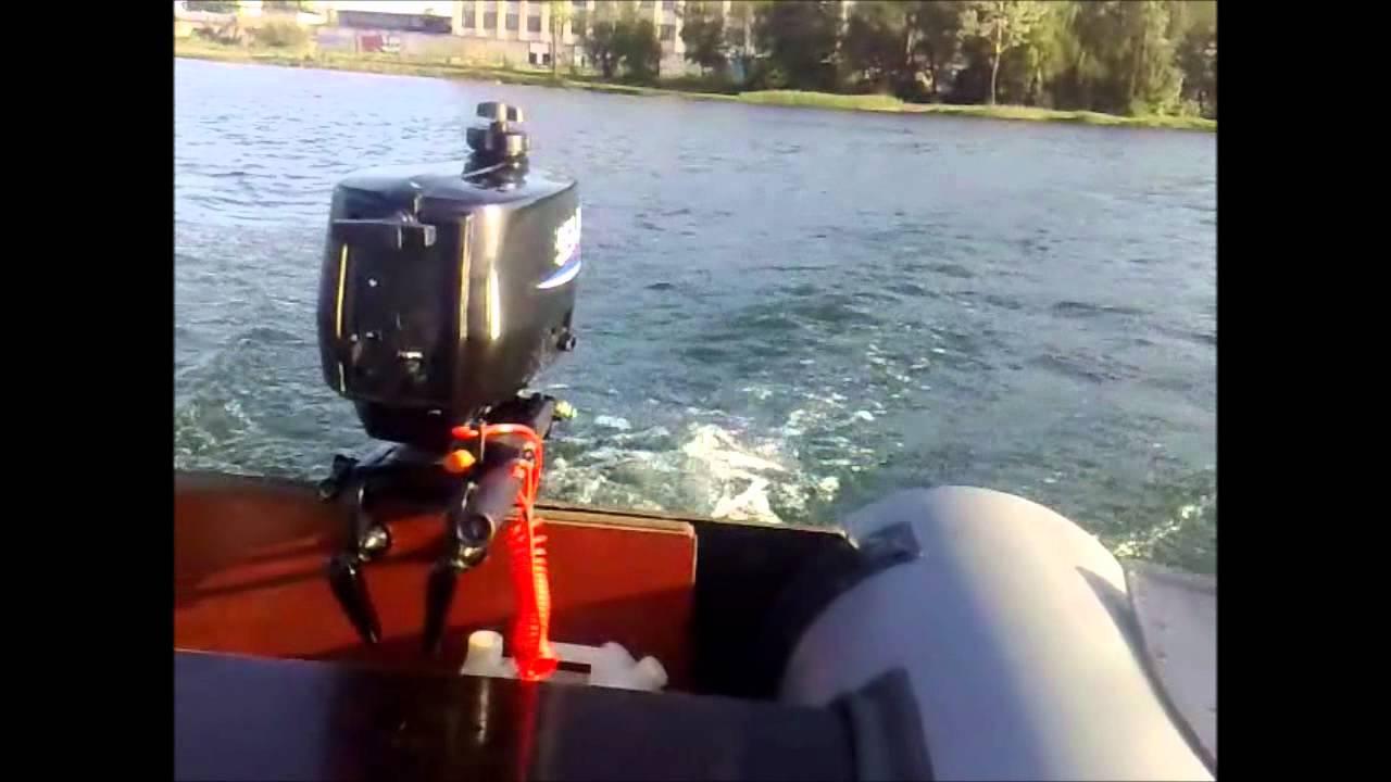 Простой способ форсирования лодочного мотора