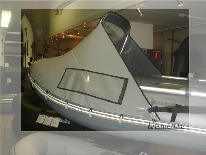 Как сделать навес на лодку?