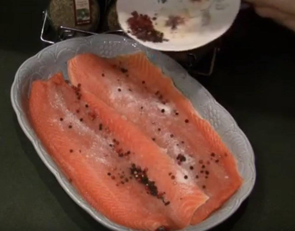 Как засолить горбушу под семгу