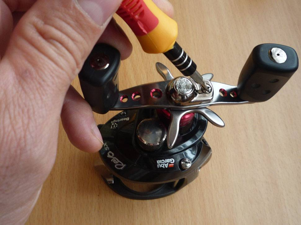 Ремонт катушек: устраняем люфты - статьи о рыбалке