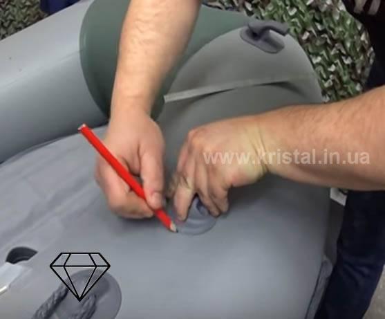 Как заклеить лодку пвх в домашних условиях своими руками