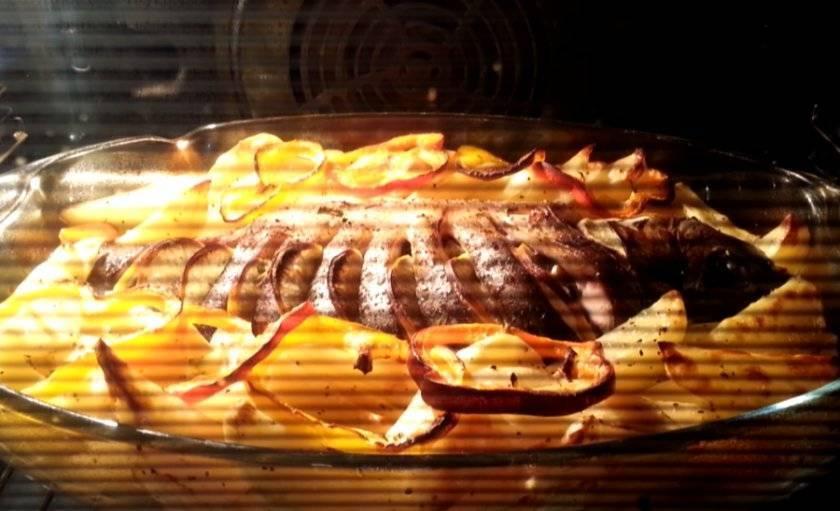 Сазан в духовке в фольге: вкусные рецепты приготовления, как запечь с лимоном, картошкой