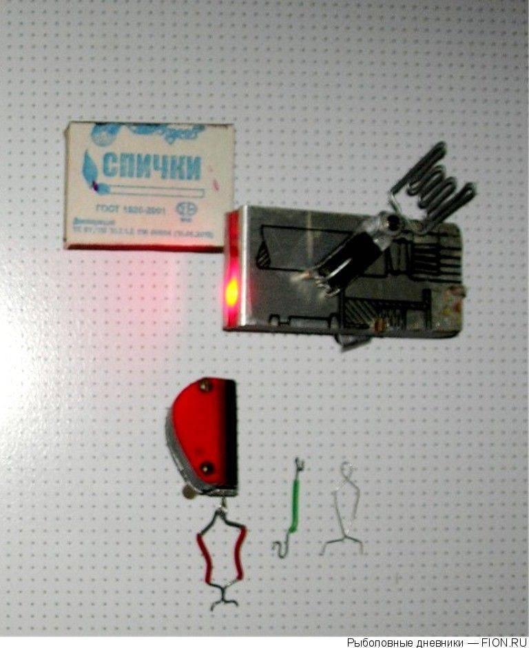 Сигнализаторы поклевки для донки своими руками: звуковой, маятник