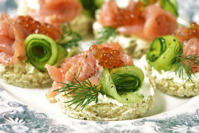 Закуски из рыбы и морепродуктов - рецепты