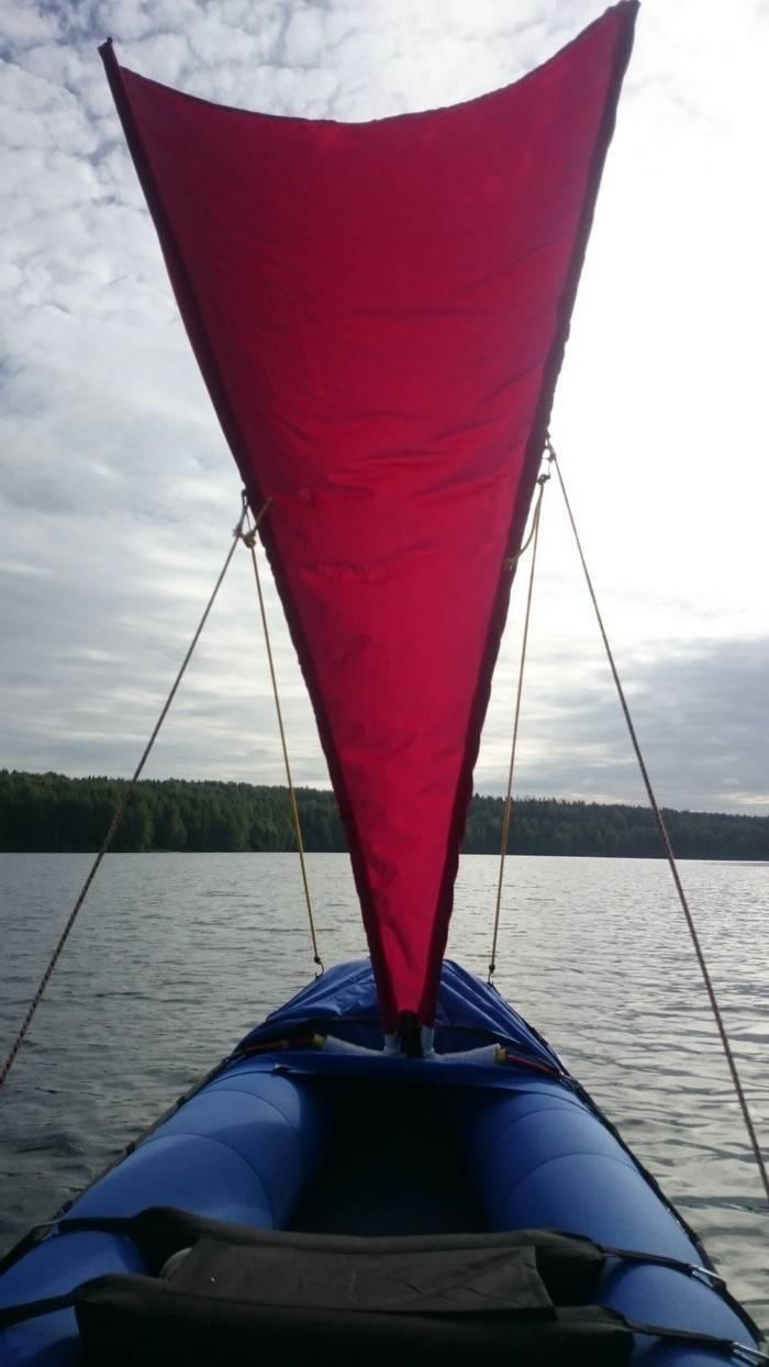 Парус для надувной лодки своими руками - домашняя верфь - мастеру - сделаем сами