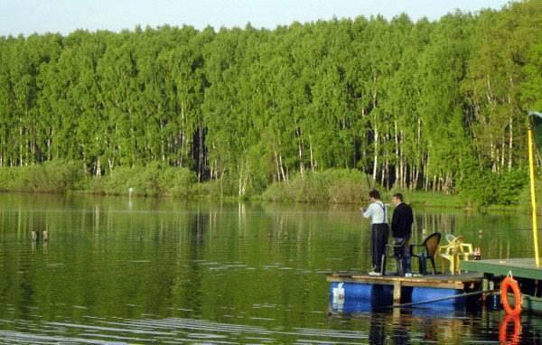 Рыбалка на медвежьем озере в щелковском районе