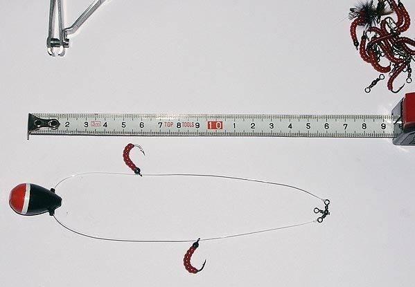 Ловля зимой на балду: изготовление, игра и техника рыбалки