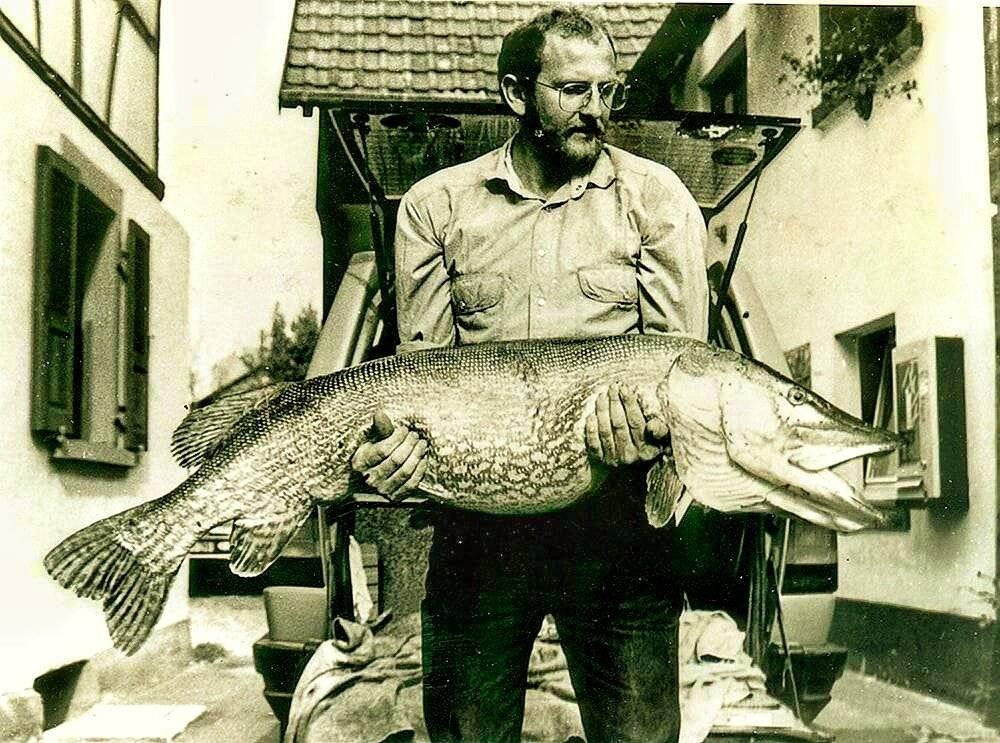 Какая самая большая пойманная щука в мире