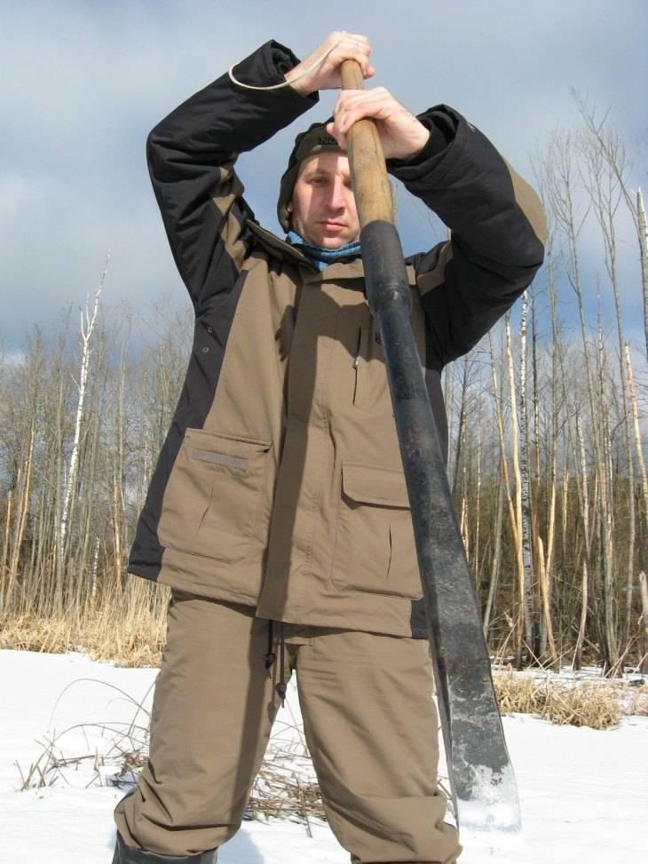 Рыболовная пешня: принцип работы и изготовление самодельной конструкции своими руками, размеры