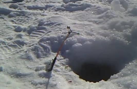 Ловля леща на комбайн зимой: как сделать спускник своими руками