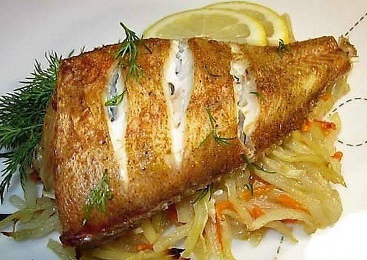 Морской окунь, запеченный в духовке — простые и вкусные рецепты