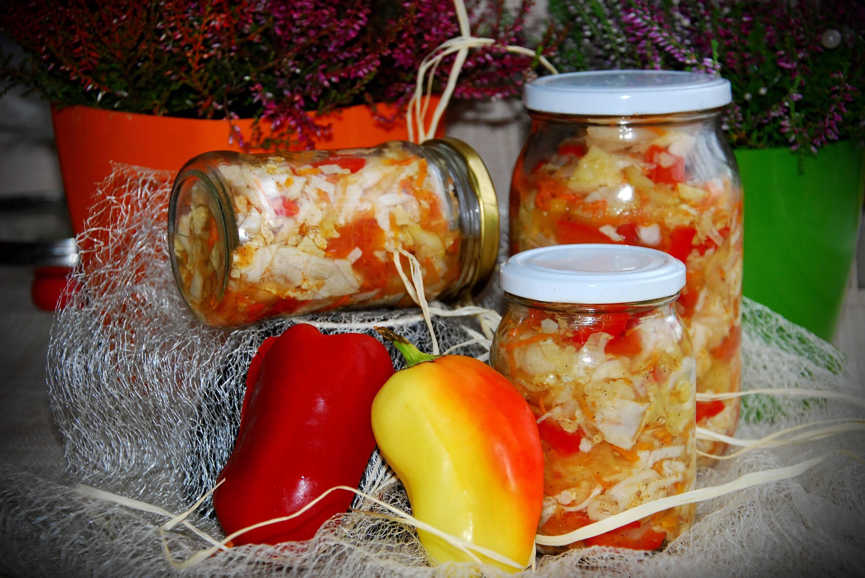 Салат из скумбрии на зиму