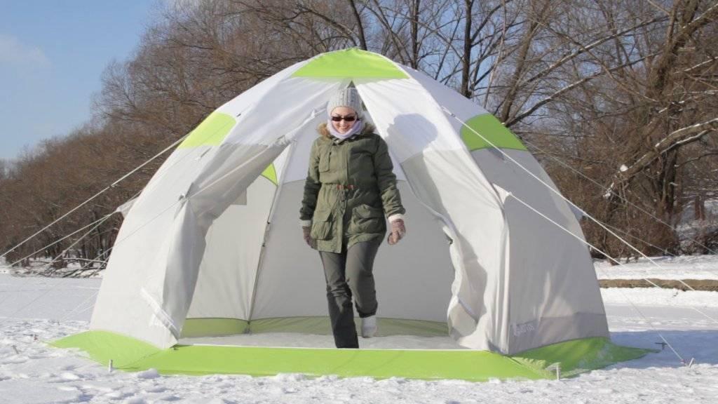 Палатка для зимней рыбалки: какую выбрать? рейтинг зимний палаток