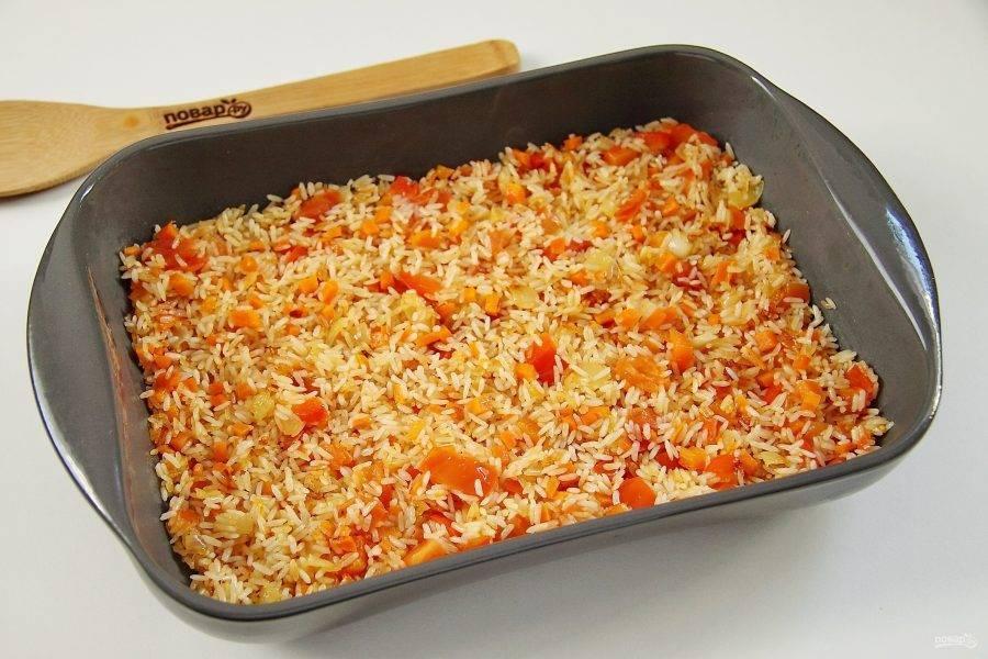 Рис с овощами (более 100 рецептов с фото) - рецепты с фотографиями на поварёнок.ру
