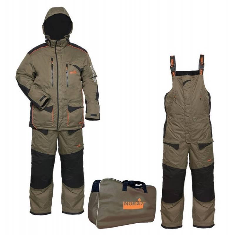 Основные критерии выбора зимнего костюма для рыбалки